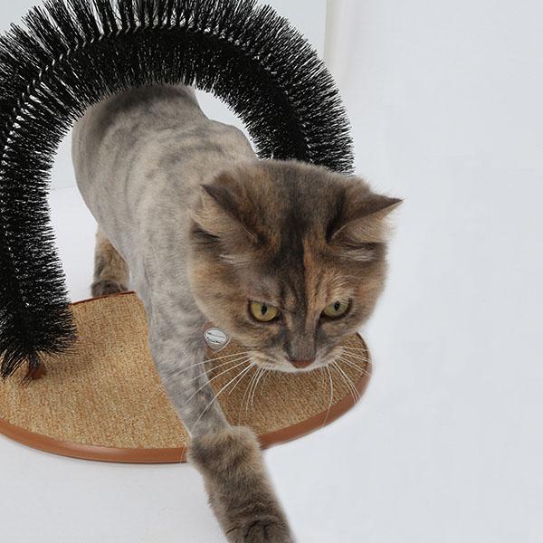 고양이 셀프 그루밍 스크래쳐