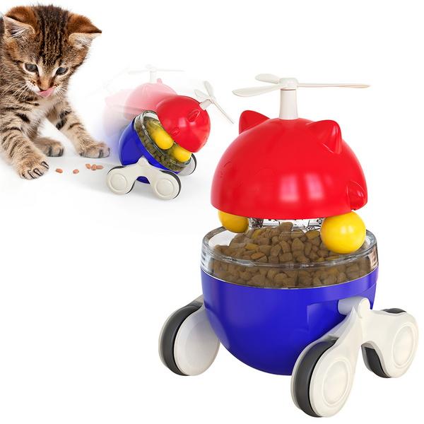 오뚝이 장난감 강아지 고양이 간식 트레이