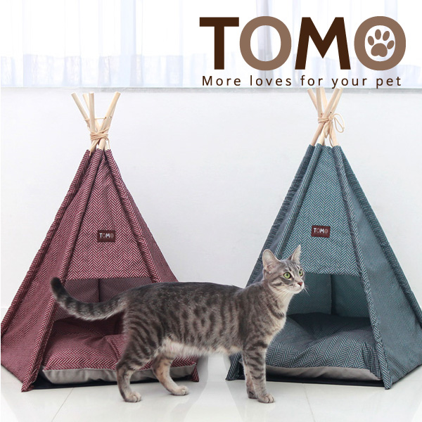 토모 슈슈 강아지 고양이 텐트 하우스