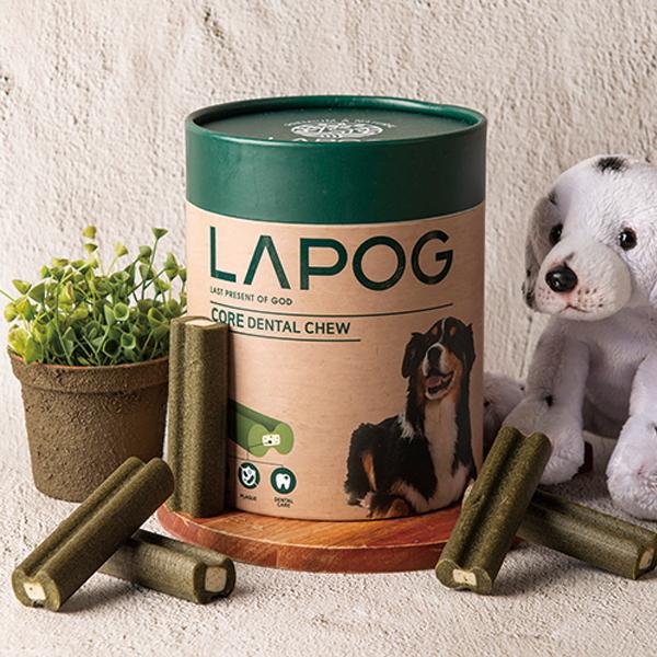 라포그 코어덴탈츄 강아지 입냄새케어 덴탈껌 220g