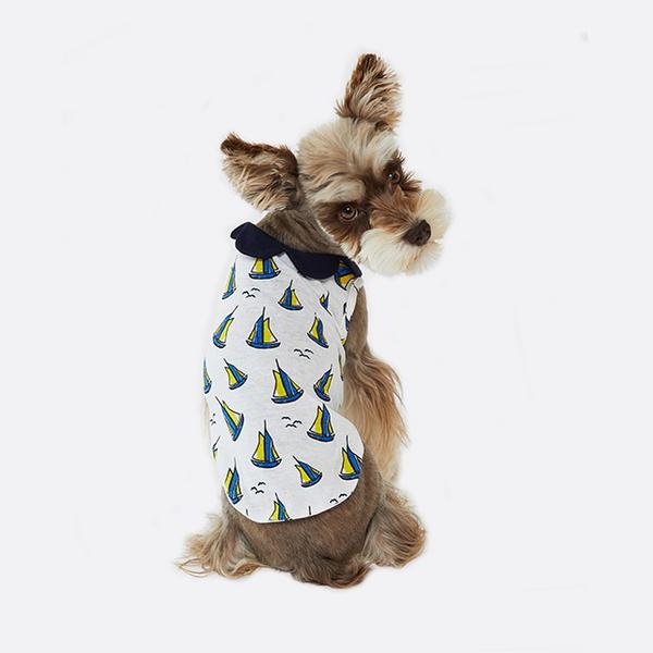 Yacht collar T-shirts
