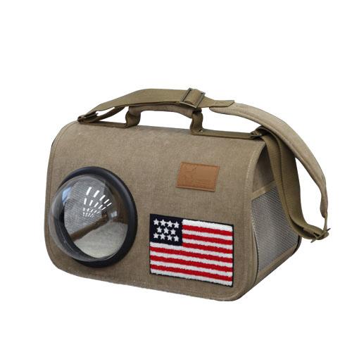 아메리칸 트래블 우주선가방 다크브라운