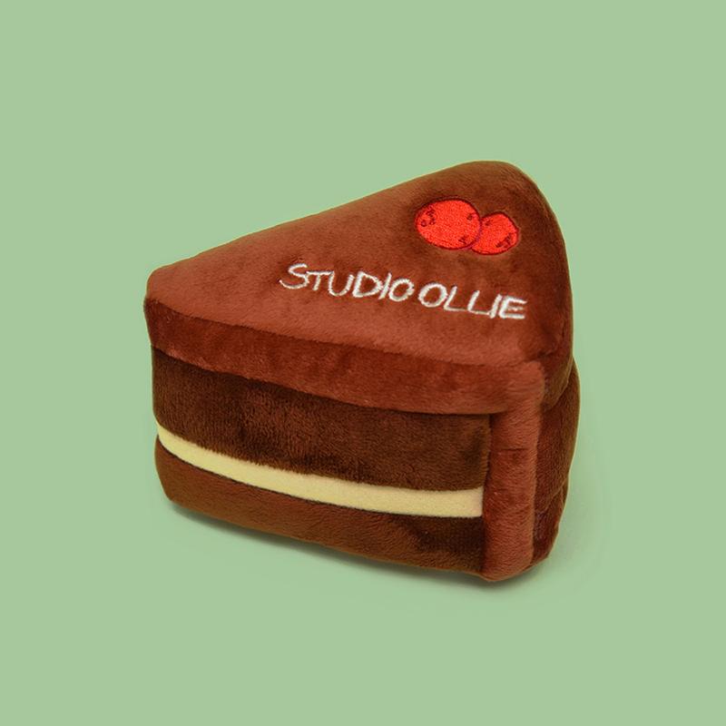 스튜디오올리 삑삑이 장난감 인형 얌얌 스너플 초코무스 케이크