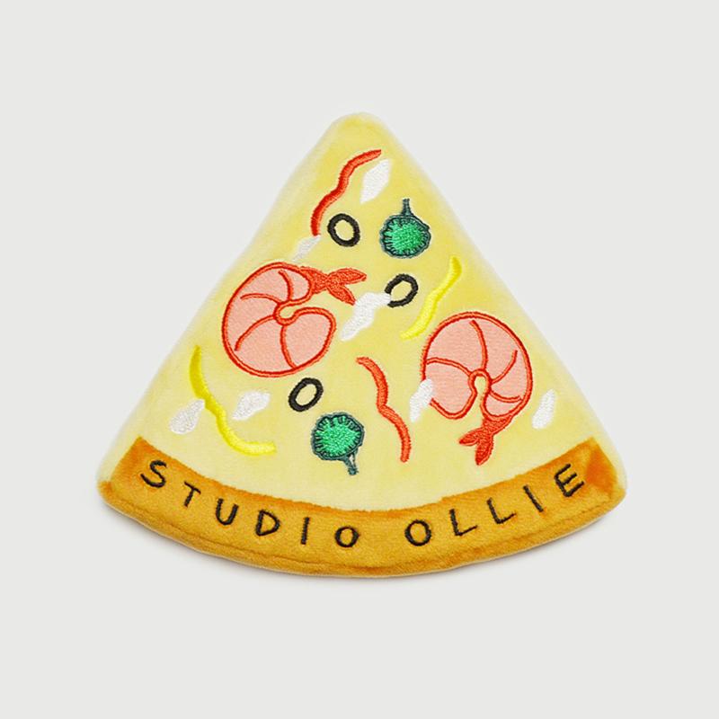 스튜디오올리 삑삑이 장난감 인형 얌얌 삑삑 쉬림프피자