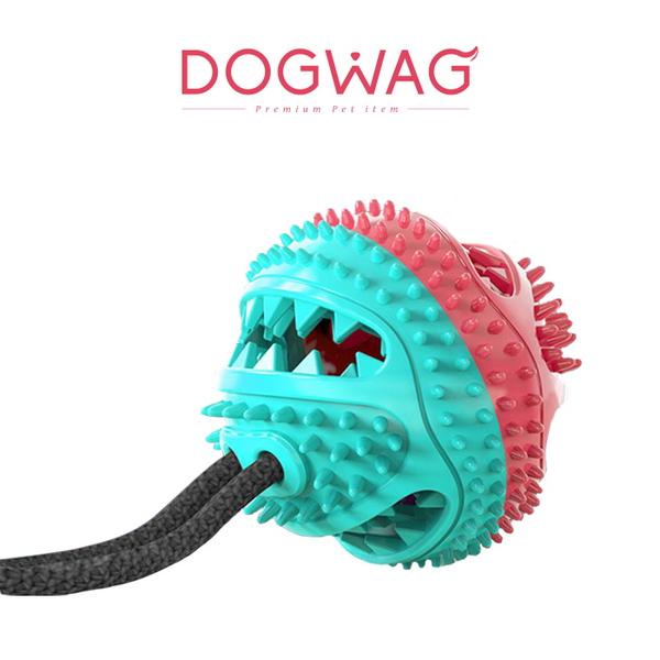 도그웨그 덴탈 토이 셀프 양치 쭉쭉볼 장난감