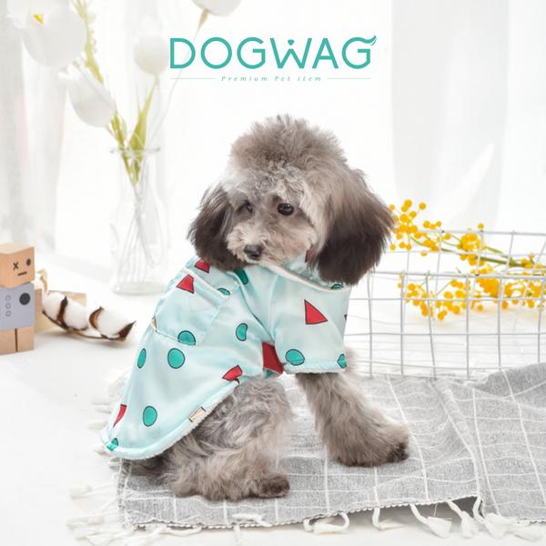 도그웨그 세모네모 기모 잠옷 강아지 겨울 옷 고양이 실내복