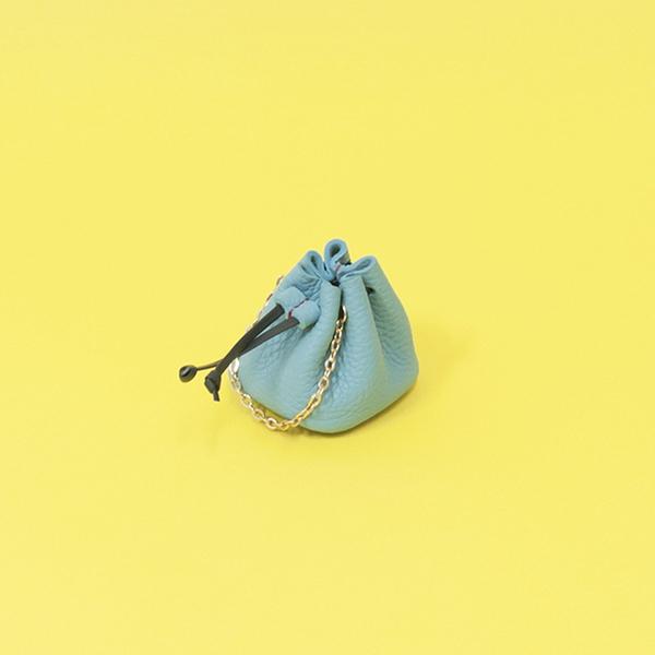 소프트 풉백 파우치 블루