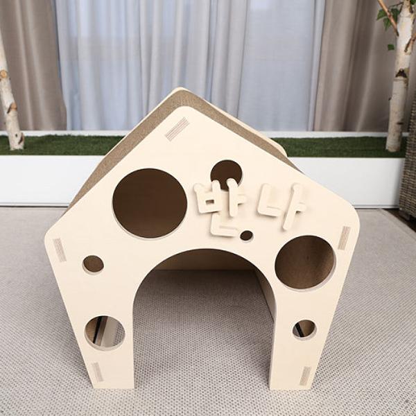 원목 펫하우스 구멍하우스
