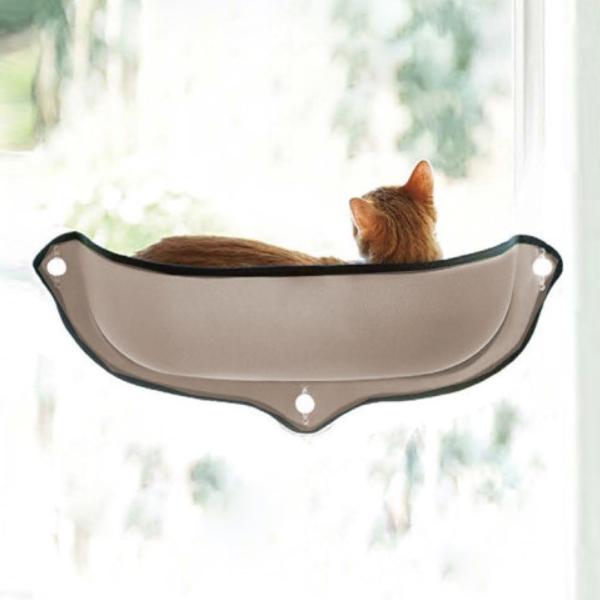 고양이 부착형 해먹 윈도우 베드