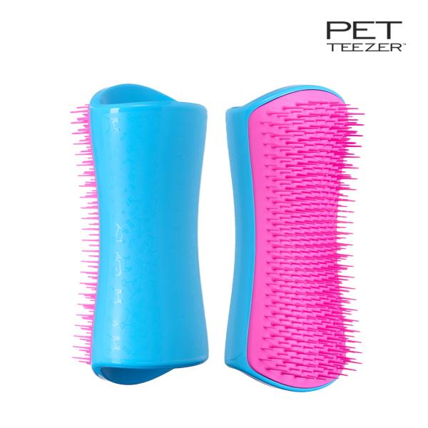 반려동물 브러쉬 디쉐딩 핑크 블루