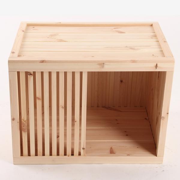 원목 강아지집 Box type A 대형 (실내용)