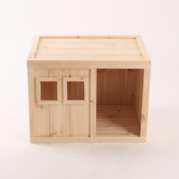 원목 강아지집 Box type B 대형 (무도장)