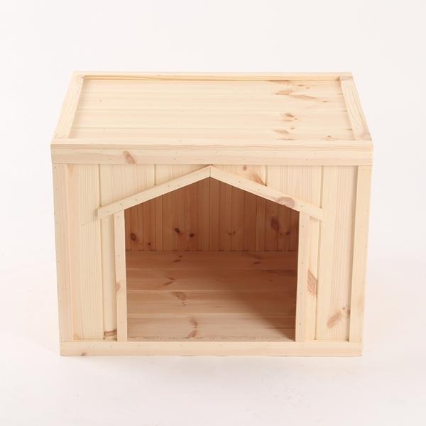 원목 강아지집 Box type C 대형 (무도장)