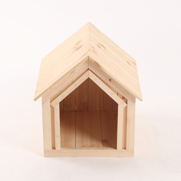 원목 강아지집 하우스 Type A 소형 (무도장)
