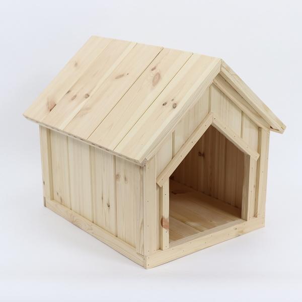 원목 강아지집 하우스 Type A 대형 (실외용)