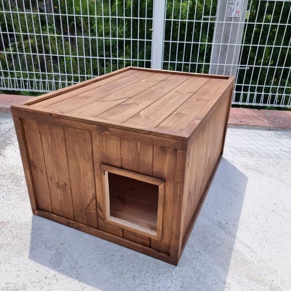 원목 길냥이 전용집 길고양이 집 특대형