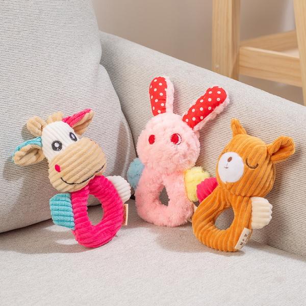 같이 놀이 좋은 도넛 인형 장난감 3종 세트
