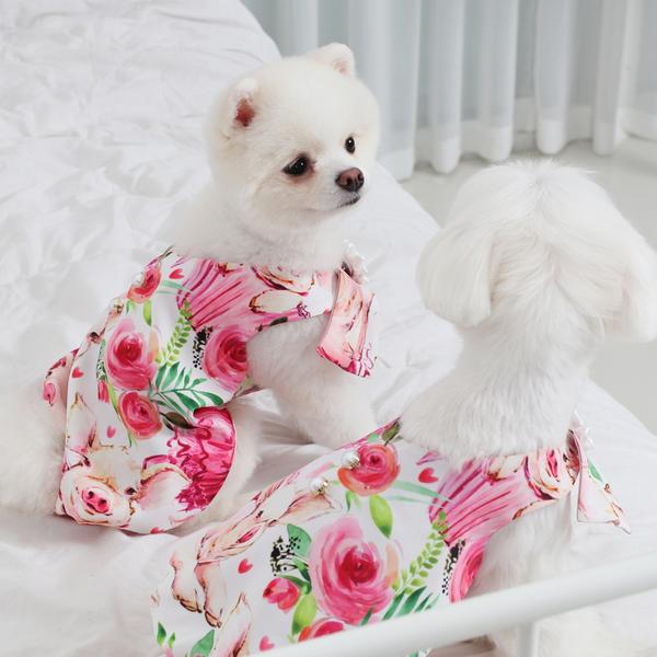 에덴숑 프린팅 드레스