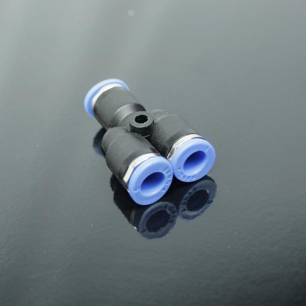 상아 원터치 피팅 Y자 연결관(6mm) PY 06