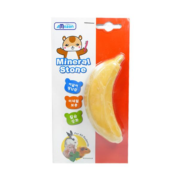 아마존 미네랄스톤-바나나/이갈이장난감
