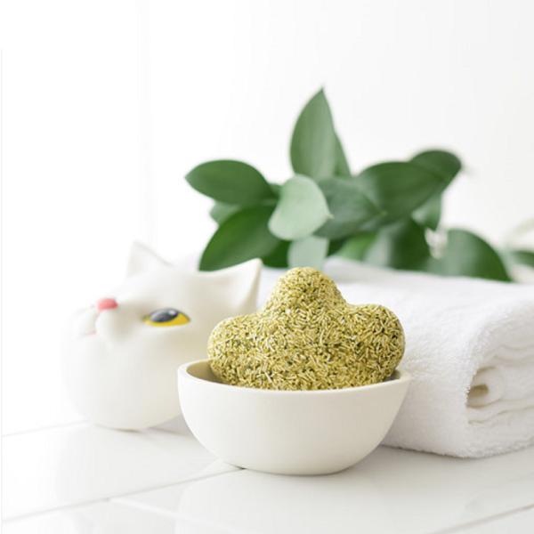 앙펫 고양이 발바닥모양 천연 캣닢 비누 캐모마일향