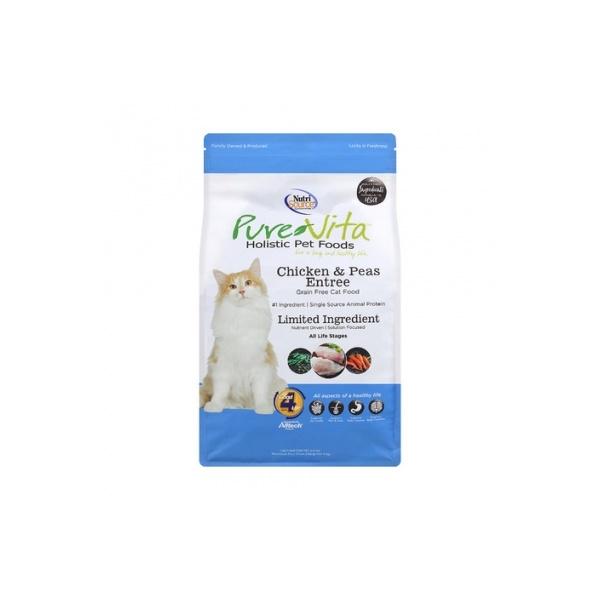 퓨어비타 홀리스틱 고양이 사료 치킨 완두콩 전연령용 3kg
