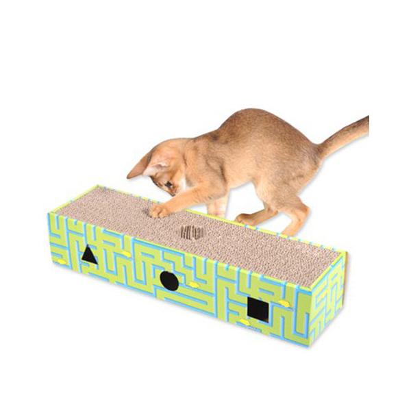 고양이 장난감 골판지 스크래쳐