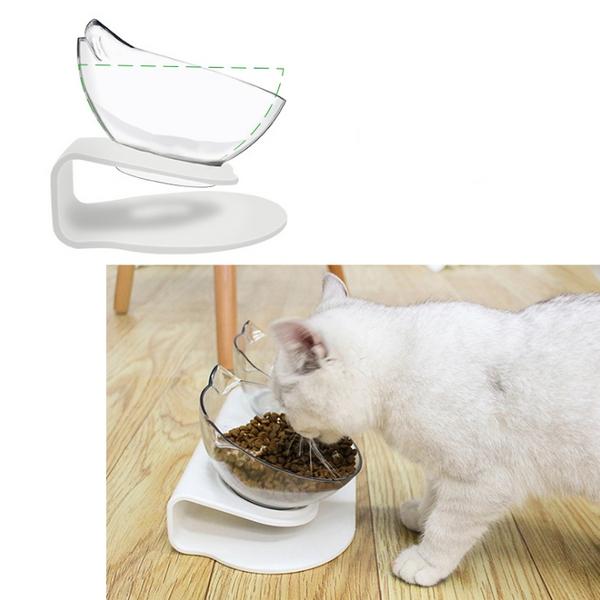 강아지 식기 고양이 식탁 밥 물 그릇 더블 보울