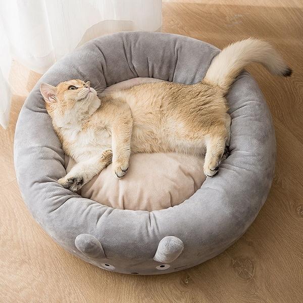 고양이 강아지 쿠션 숨숨 집 침대 하우스 래빗 방석