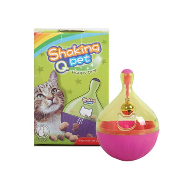 윈윈펫 고양이 오뚝이 스낵볼 장난감