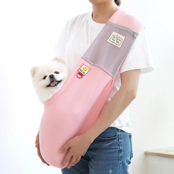 패리스독 강아지 고양이 투게더 슬링백