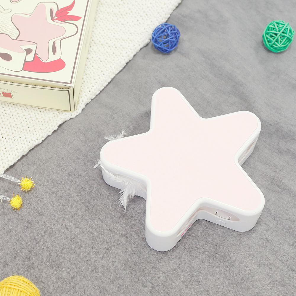 옥희독희 고양이 자동 회전 장난감 별의별