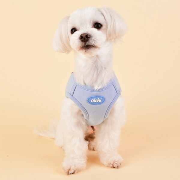 퍼피아 올치 강아지 마카롱 하네스