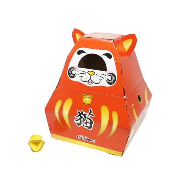 캐티맨 행운고양이 박스 장난감
