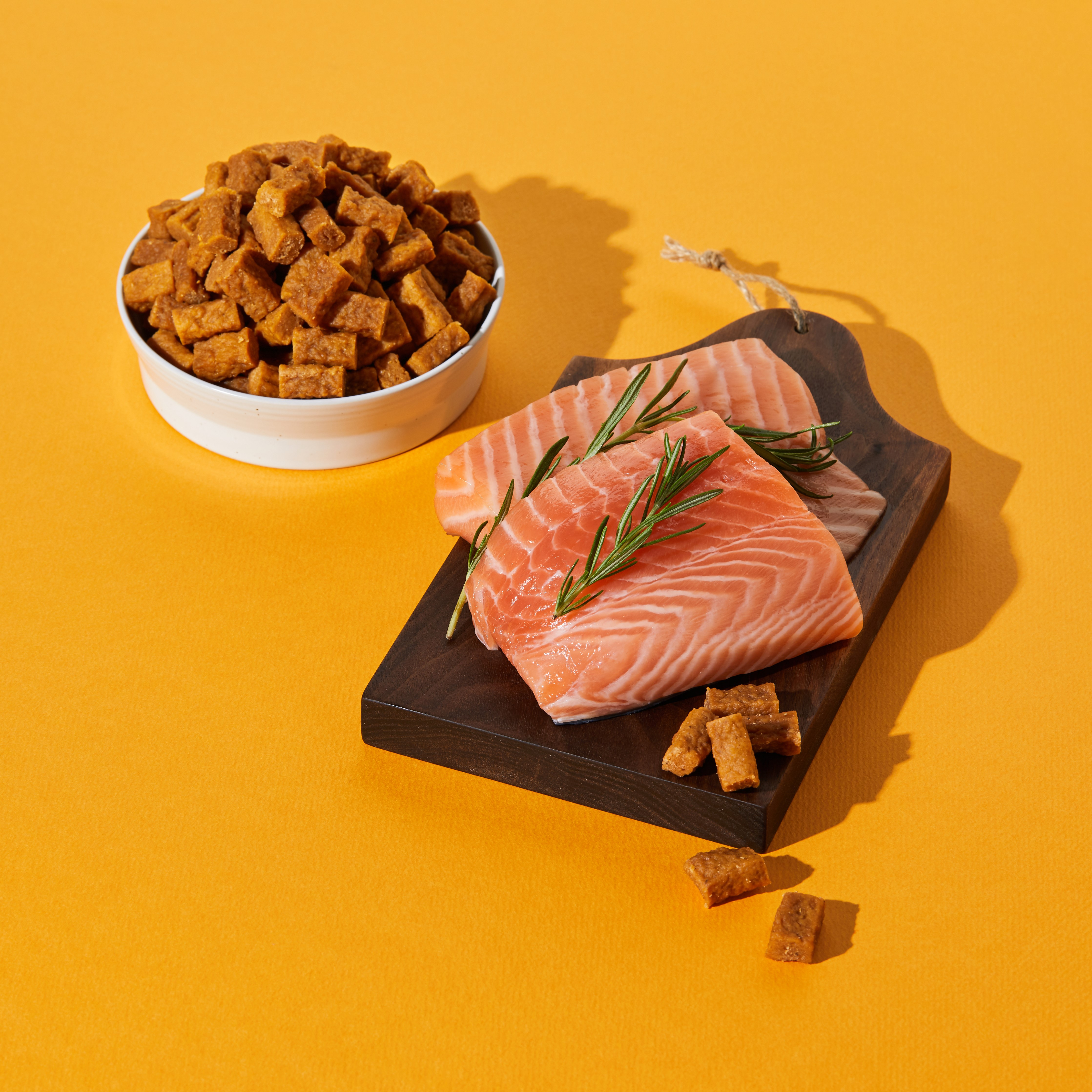 무마진 강아지 간식 연어 큐브 800g