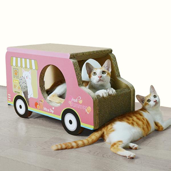 도트캣 스크래처 아이스크림트럭