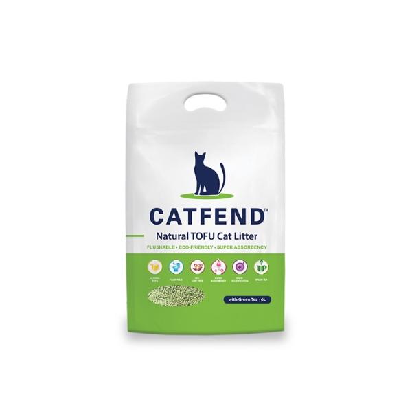 캣펜드 고양이 두부모래 6L
