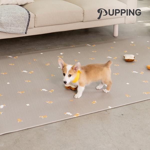[퍼핑] 펫매트 러그타입 견종디자인 M(200X140x0.6cm) 5종택1