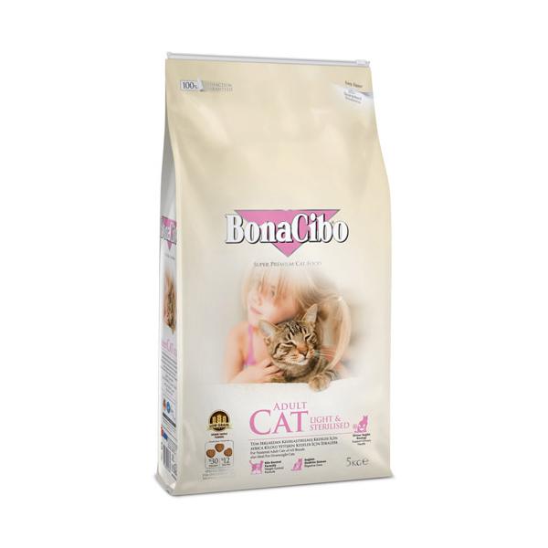 보나시보 고양이 사료 체중감량과 중성화 5kg