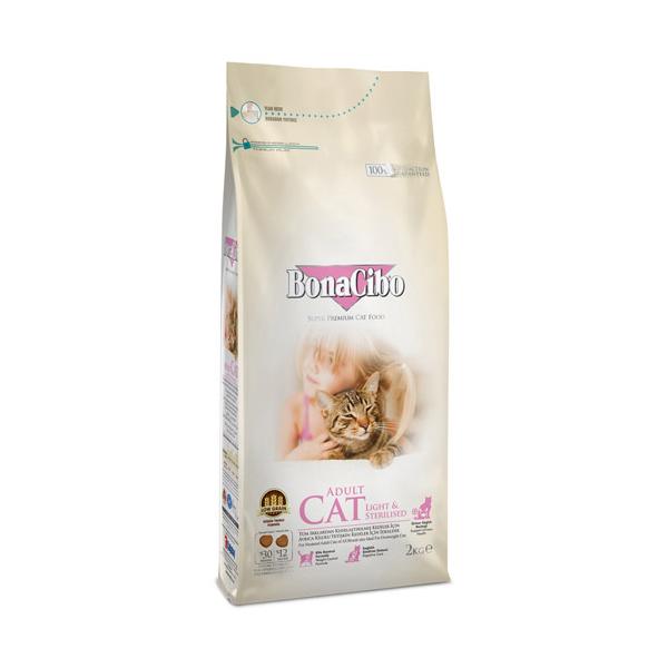 보나시보 고양이 사료 체중감량과 중성화 2kg