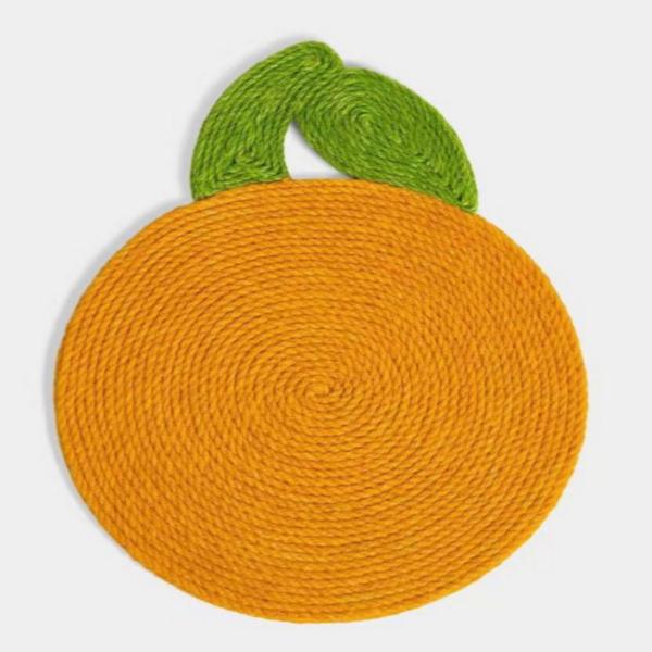 고양이 벽 부착 오렌지 스크래쳐