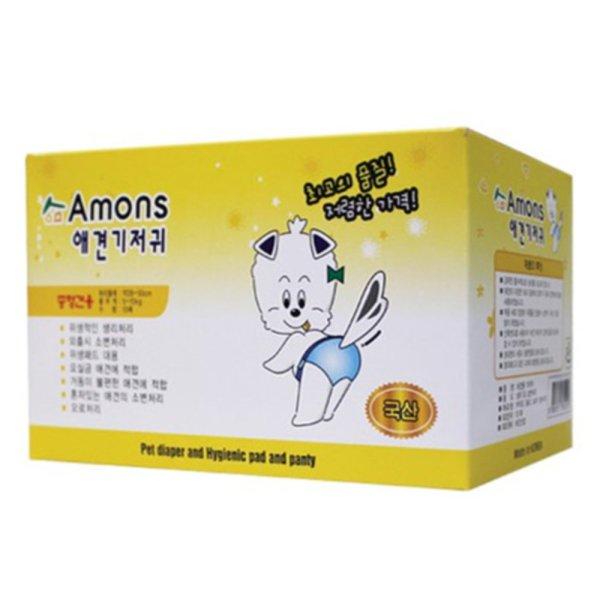 아몬스 애견기저귀 중형견용 10매입