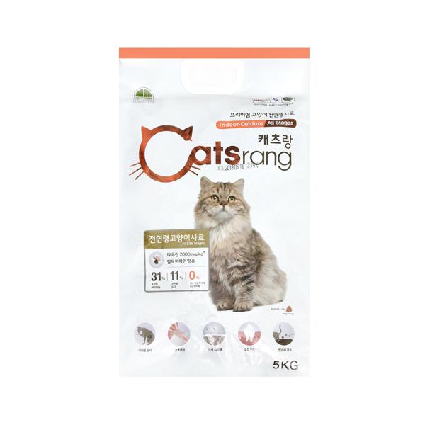캐츠랑 고양이 사료 전연령 5kg