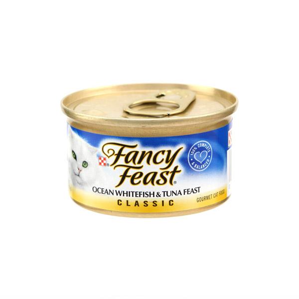 퓨리나 고양이 캔 팬시피스트 클래식 참치와 흰살생선 85g