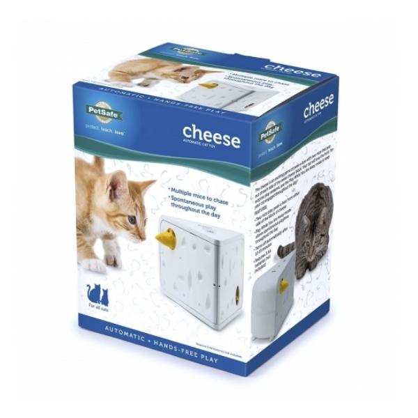 고양이 자동장난감 치즈캣 토이
