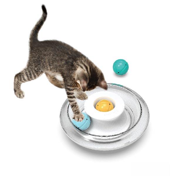 페이크웨이 UFO 고양이 공놀이 장난감
