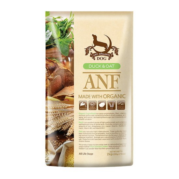ANF 유기농 오리 앤 귀리 사료 6kg