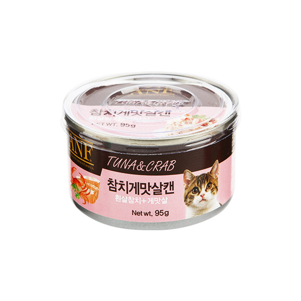 ANF 고양이 캔 참치게맛살 95g