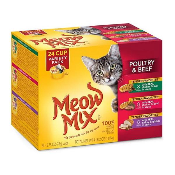 미유믹스 고양이 간식 칠면조 치킨 비프 3종 12개