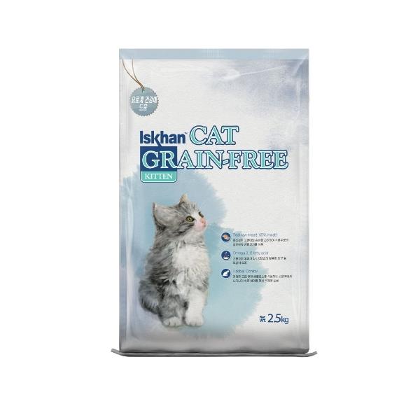이즈칸 고양이 사료 그레인프리 키튼 6.5kg